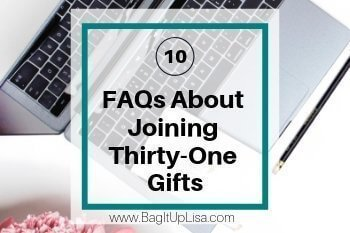 Frequently asked questions join thirty-one gifts
