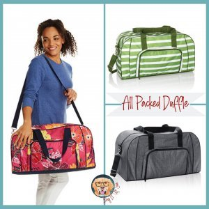 All Packed Duffle | Thirty-One Gifts | Lisa Herttua