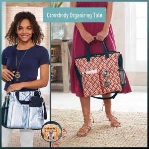 Crossbody Organizing Tote Bag It Up Lisa Thirty-One Gifts