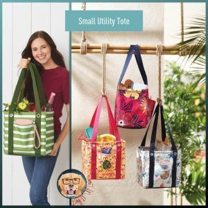 Small Utility Tote Bag It Up Lisa Thirty-One Gifts