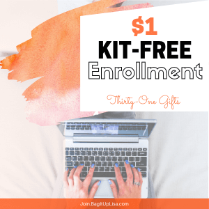 $1 enrollment thirty-one gifts