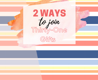 2 Ways To Join Thirty-One Gifts Bag It Up Lisa