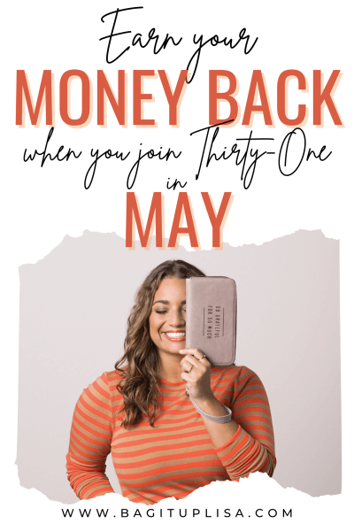 Money Back May promo earner